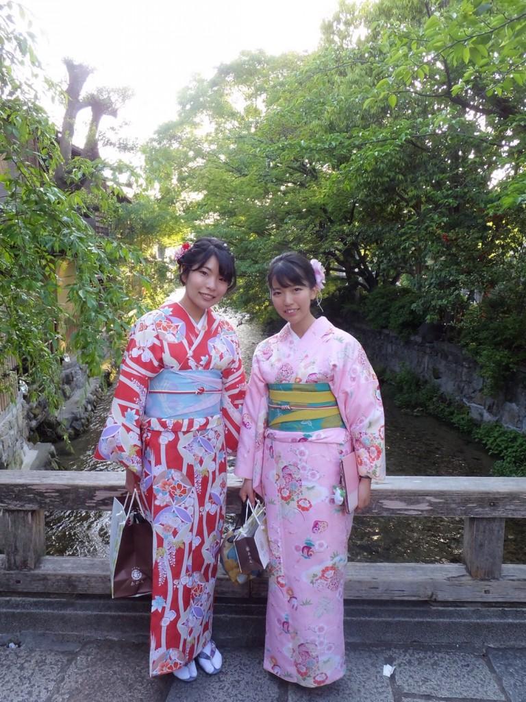 姉妹店浅草着物レンタル古都を複数回ご利用のお客様ご来店♡2018年4月28日9