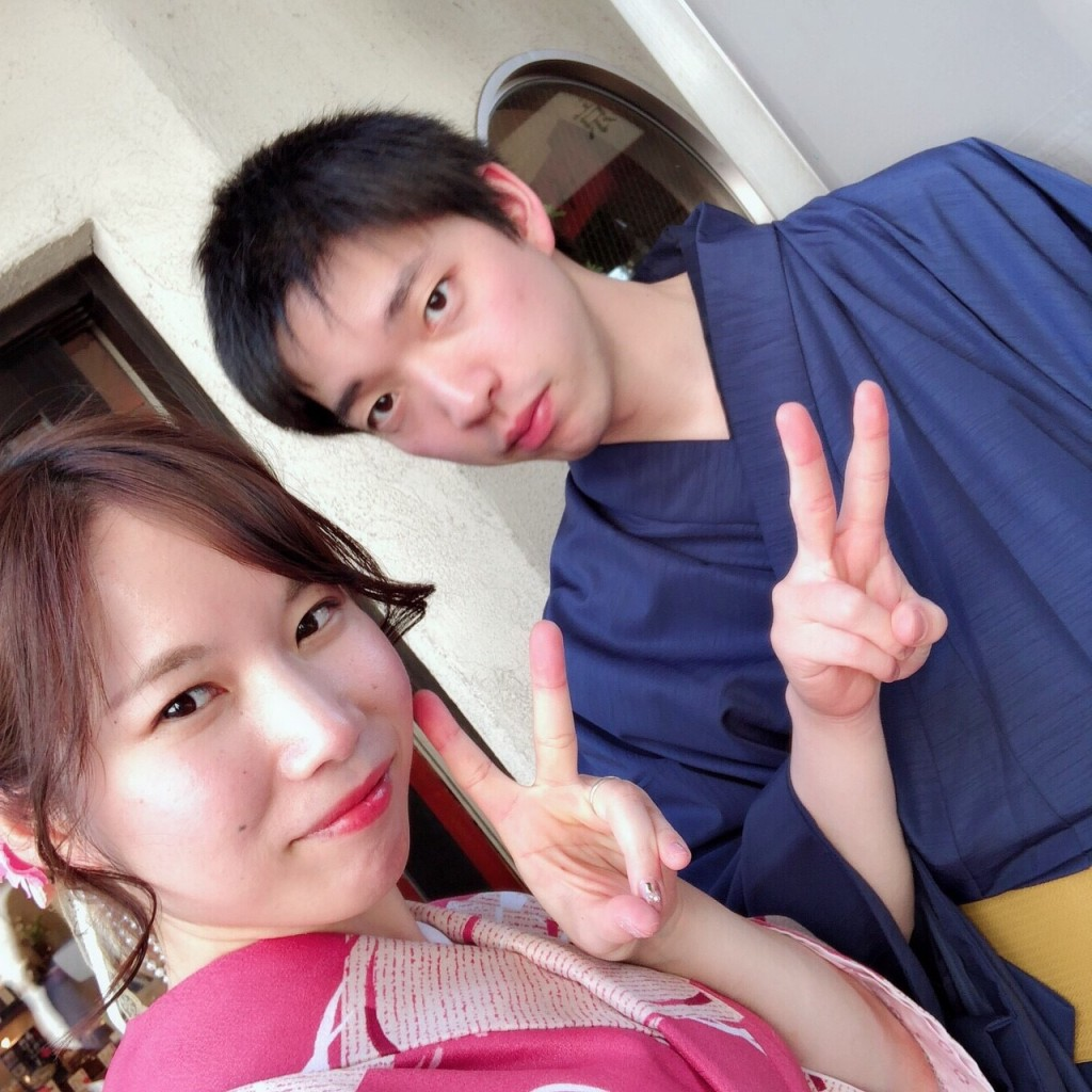 姉妹店浅草着物レンタル古都を複数回ご利用のお客様ご来店♡2018年4月28日11