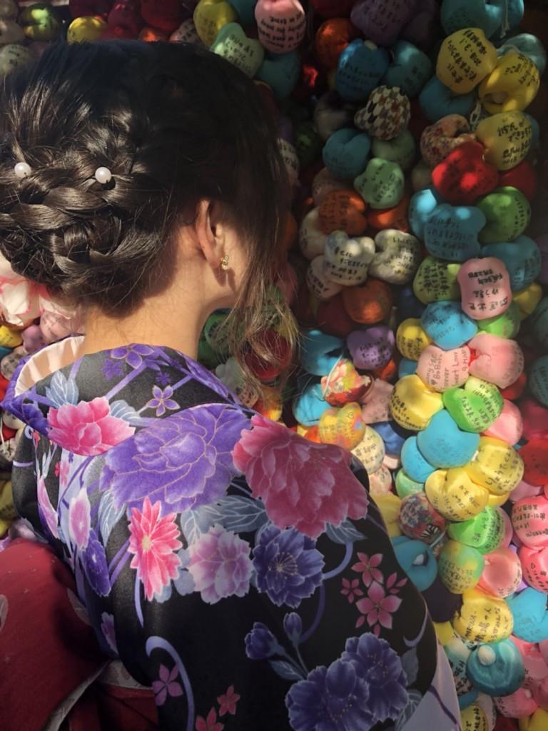 姉妹店浅草着物レンタル古都を複数回ご利用のお客様ご来店♡2018年4月28日13