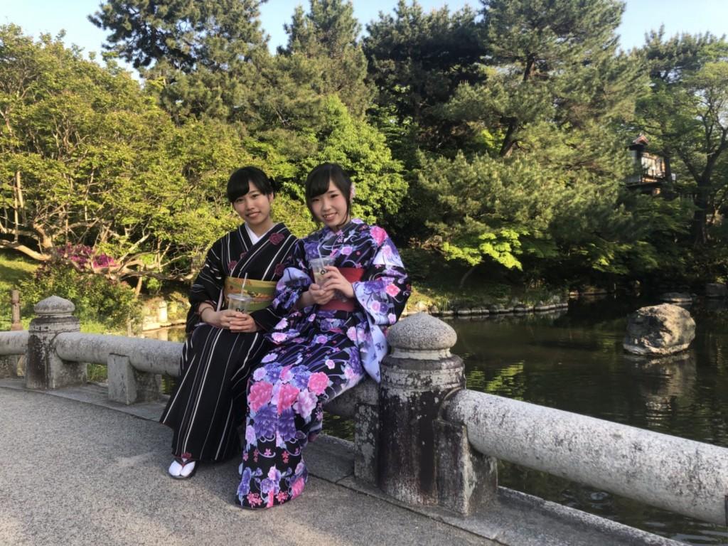 姉妹店浅草着物レンタル古都を複数回ご利用のお客様ご来店♡2018年4月28日15