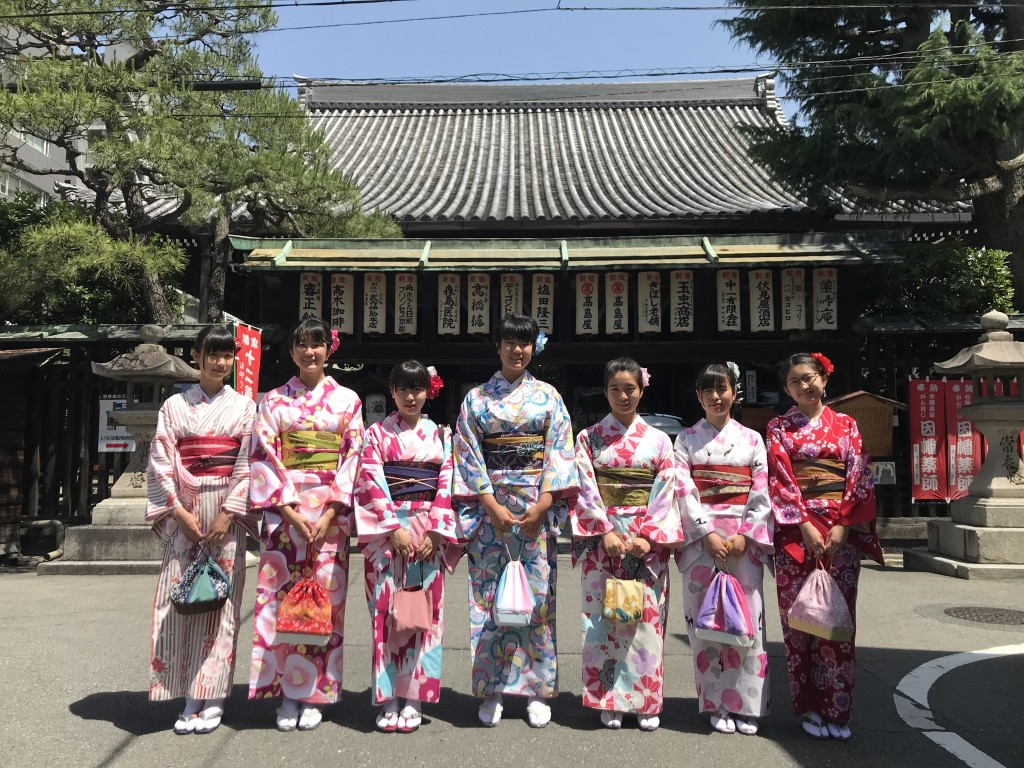 愛知からの修学旅行生(^^♪2018年5月25日1