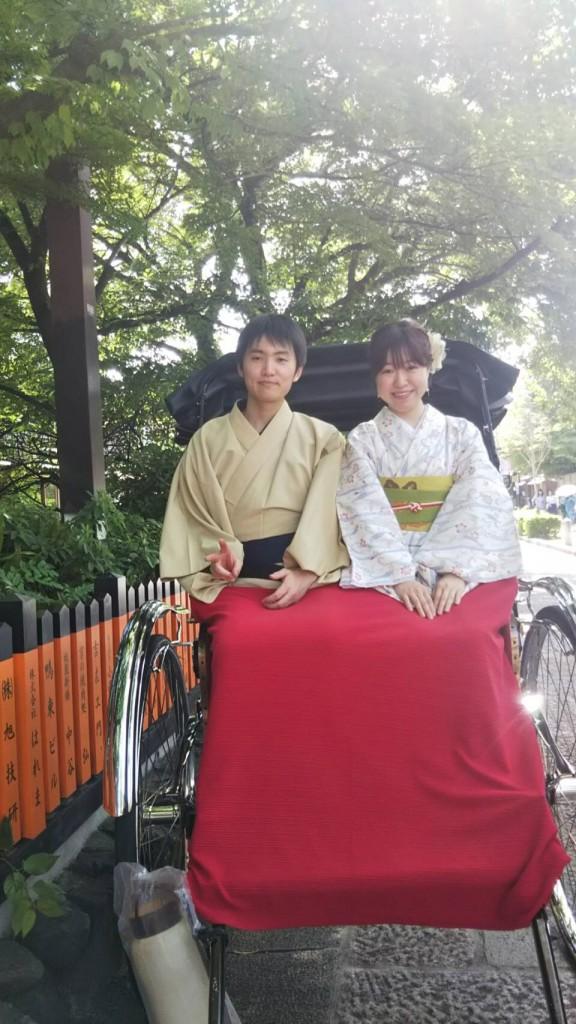 愛知からの修学旅行生(^^♪2018年5月25日14
