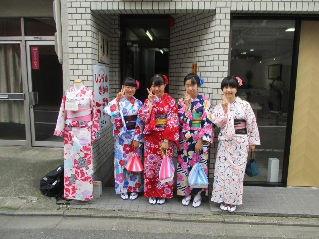 修学旅行生❣嵐山と伏見稲荷大社へ♪2018年6月5日1