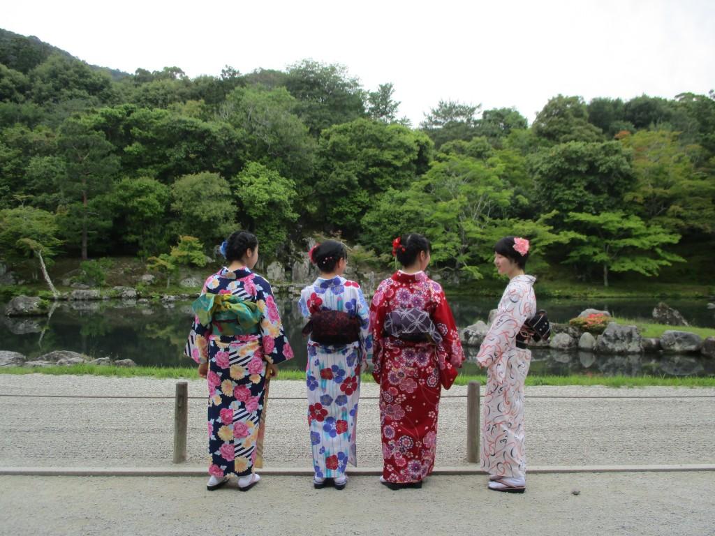 修学旅行生❣嵐山と伏見稲荷大社へ♪2018年6月5日2