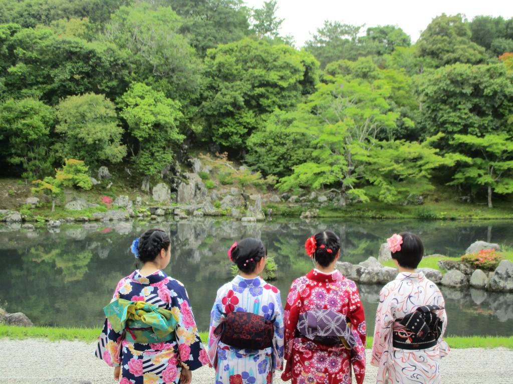 修学旅行生❣嵐山と伏見稲荷大社へ♪2018年6月5日3