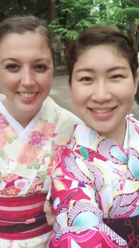 浴衣レンタルで貴船神社へ(^^♪2018年6月7日8