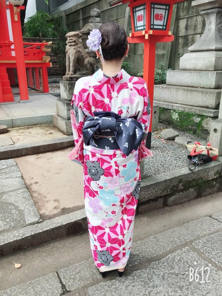 浴衣レンタルで貴船神社へ(^^♪2018年6月7日5