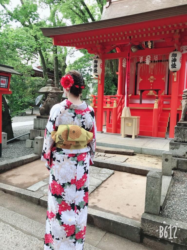 浴衣レンタルで貴船神社へ(^^♪2018年6月7日6