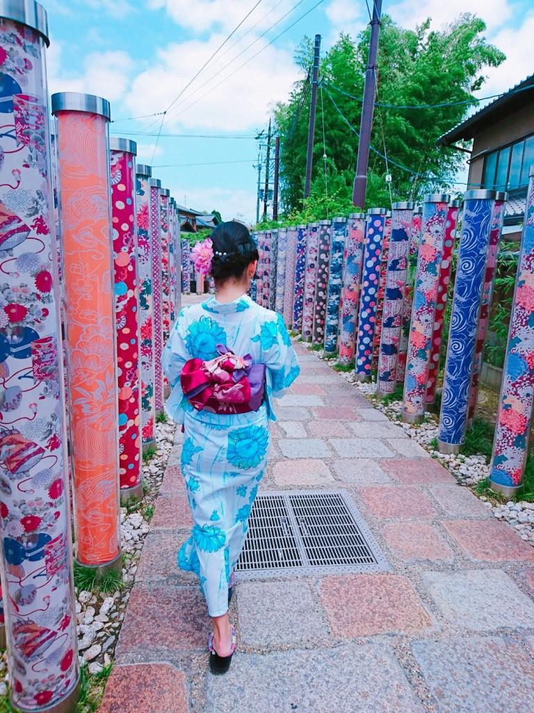 浴衣レンタルで嵐山へ(^^♪2018年6月9日2