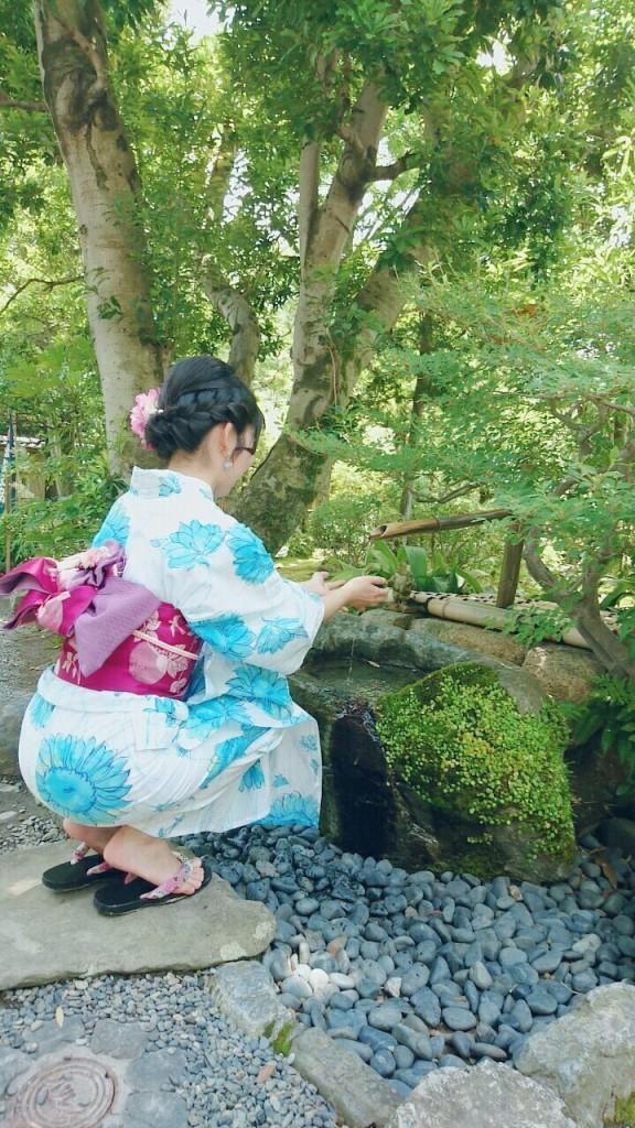浴衣レンタルで嵐山へ(^^♪2018年6月9日3