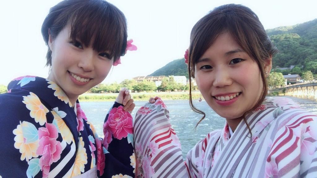 浴衣レンタルで嵐山へ(^^♪2018年6月9日4