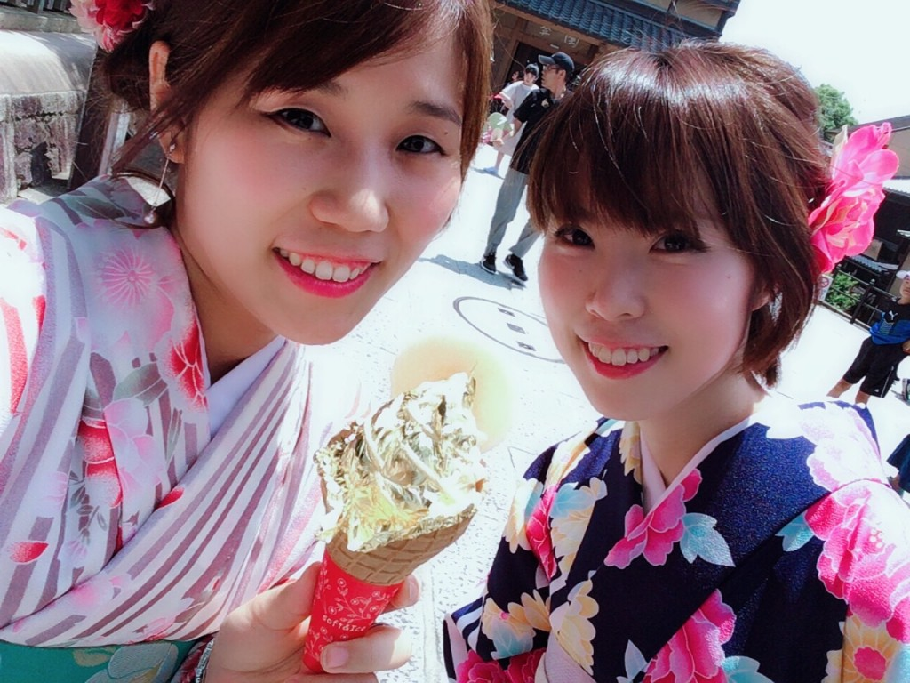浴衣レンタルで嵐山へ(^^♪2018年6月9日6