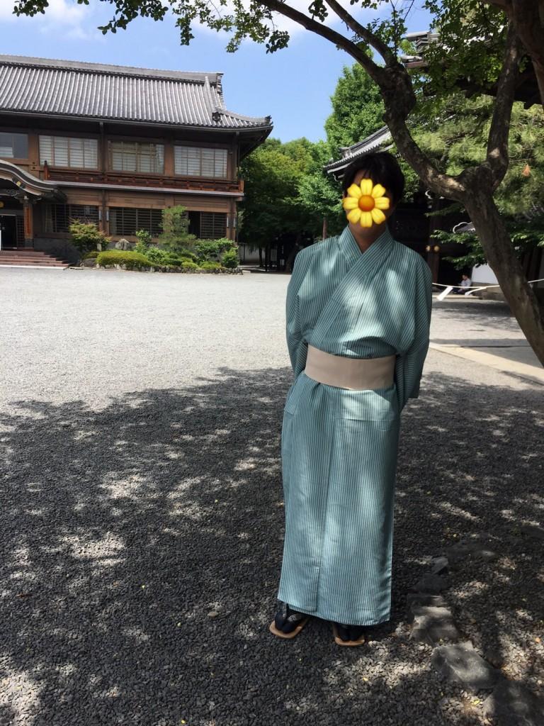 浴衣レンタルで嵐山へ(^^♪2018年6月9日12