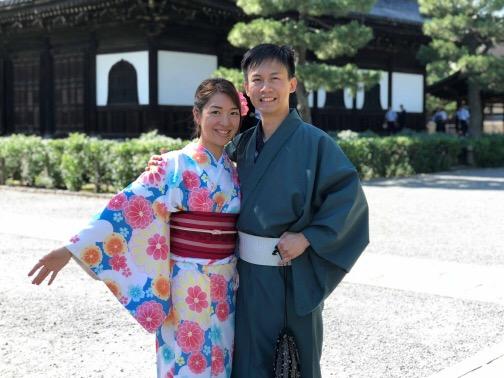 金閣寺と清水寺へ(^^♪2018年6月13日4