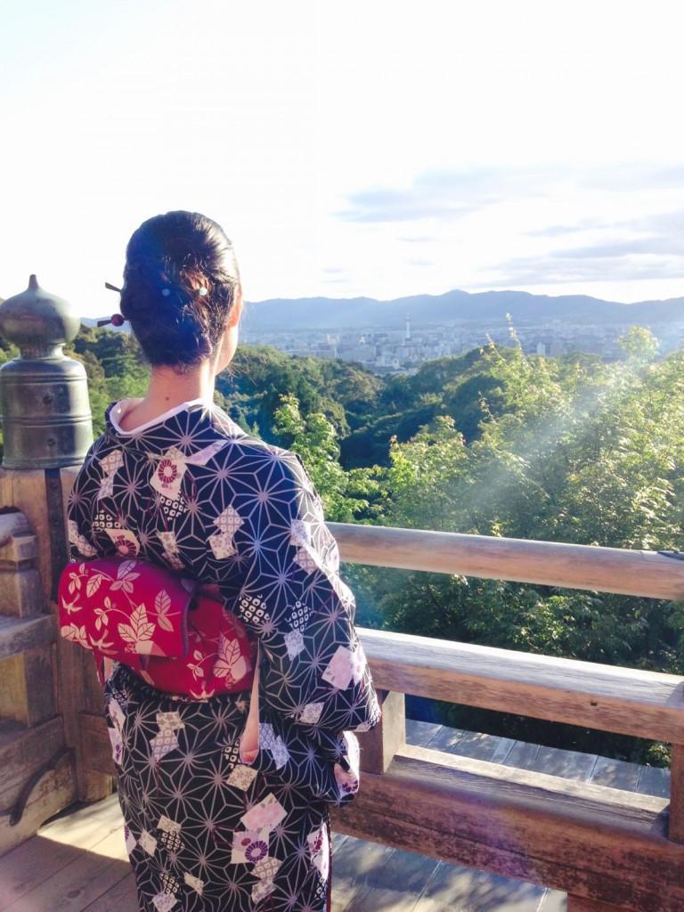 金閣寺と清水寺へ(^^♪2018年6月13日8