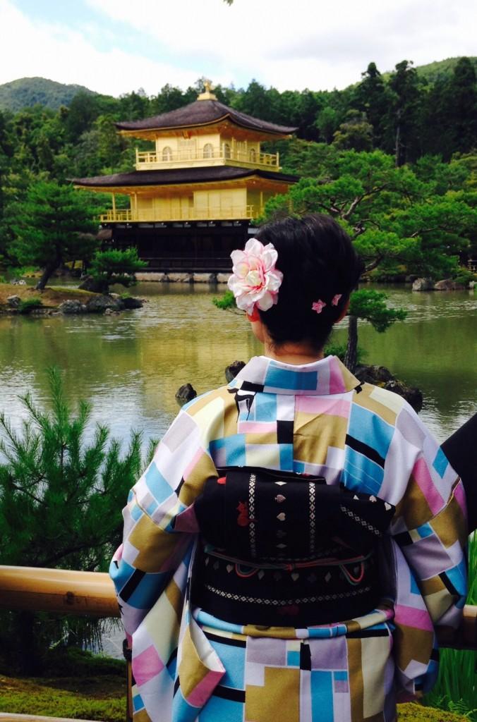 金閣寺と清水寺へ(^^♪2018年6月13日9