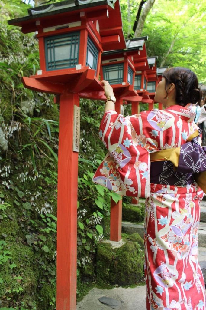 皆様、夜遅くまで浴衣で京都を満喫♪2018年6月17日3