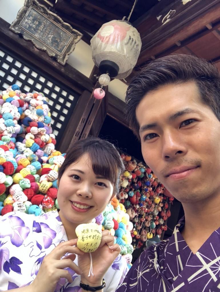 皆様、夜遅くまで浴衣で京都を満喫♪2018年6月17日5