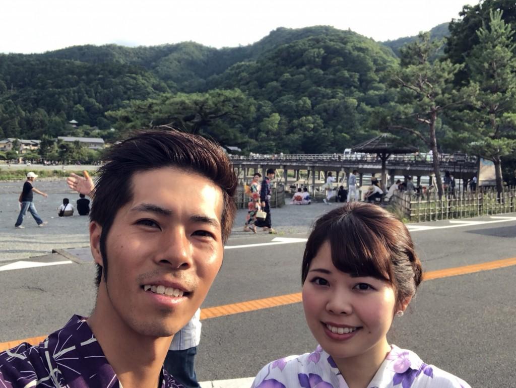 皆様、夜遅くまで浴衣で京都を満喫♪2018年6月17日6