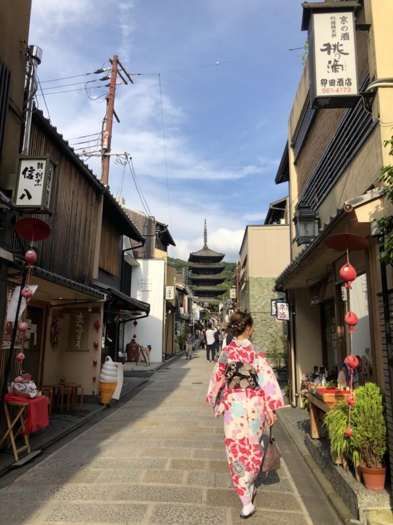 皆様、夜遅くまで浴衣で京都を満喫♪2018年6月17日8