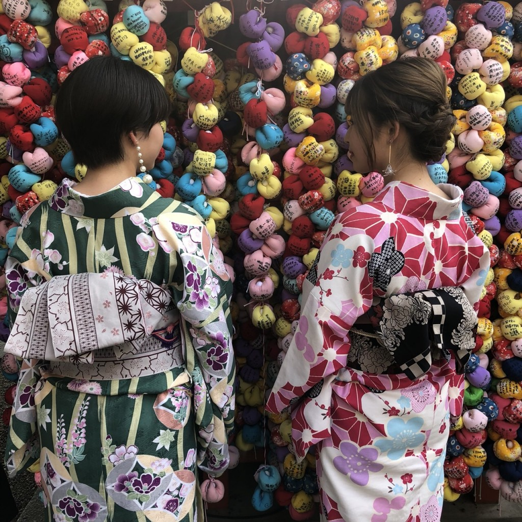 皆様、夜遅くまで浴衣で京都を満喫♪2018年6月17日9