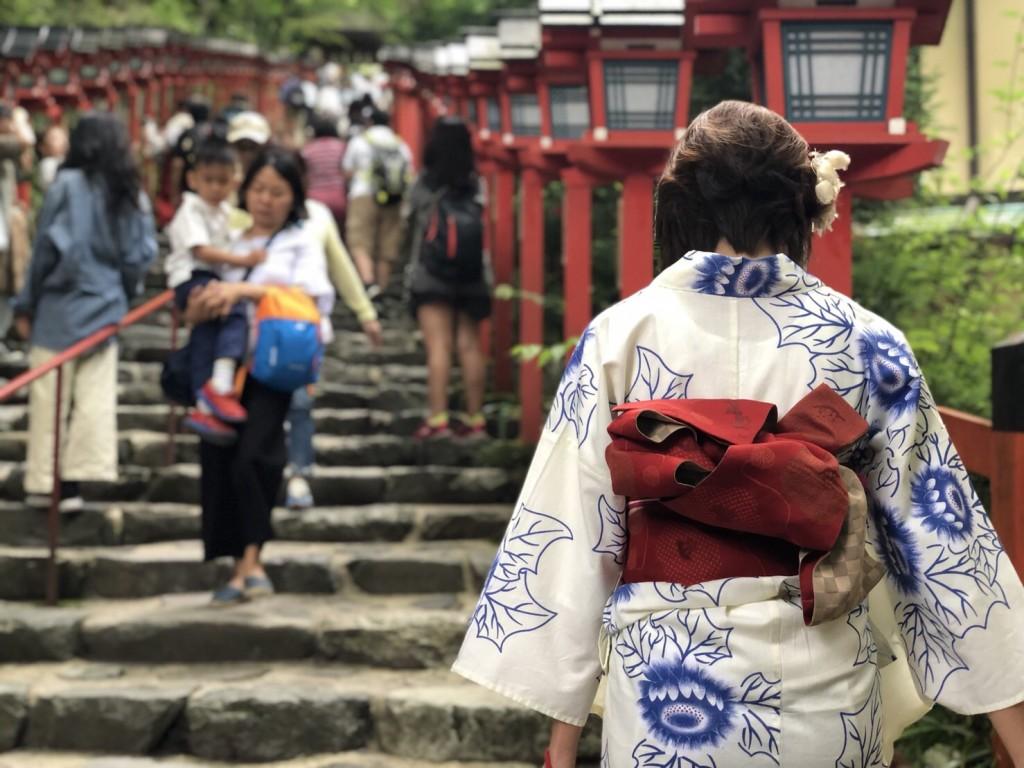 皆様、夜遅くまで浴衣で京都を満喫♪2018年6月17日11