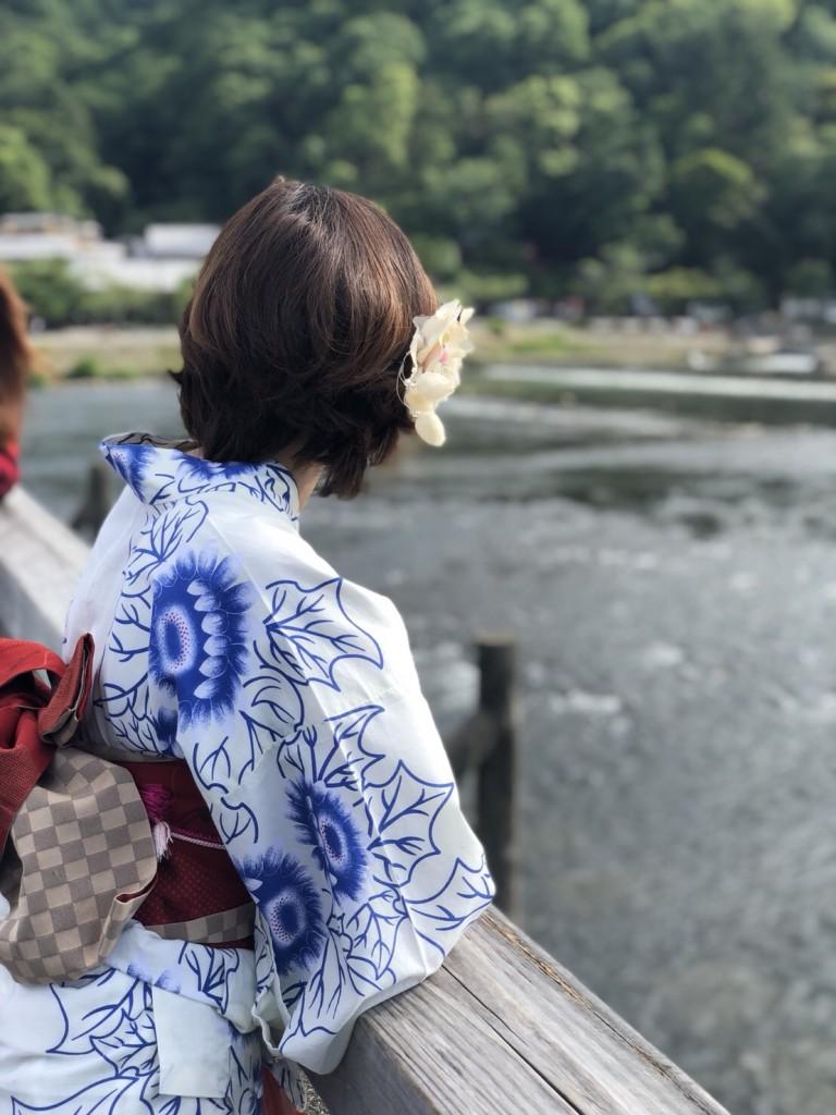 皆様、夜遅くまで浴衣で京都を満喫♪2018年6月17日12