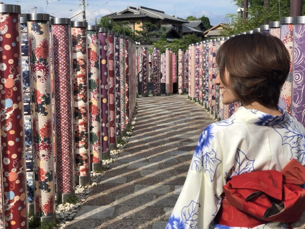 皆様、夜遅くまで浴衣で京都を満喫♪2018年6月17日13