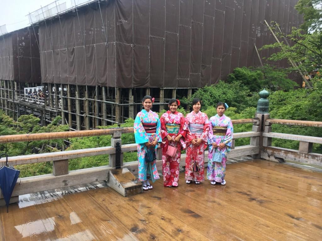 東山方面から嵐山へ(^^♪2018年6月23日2
