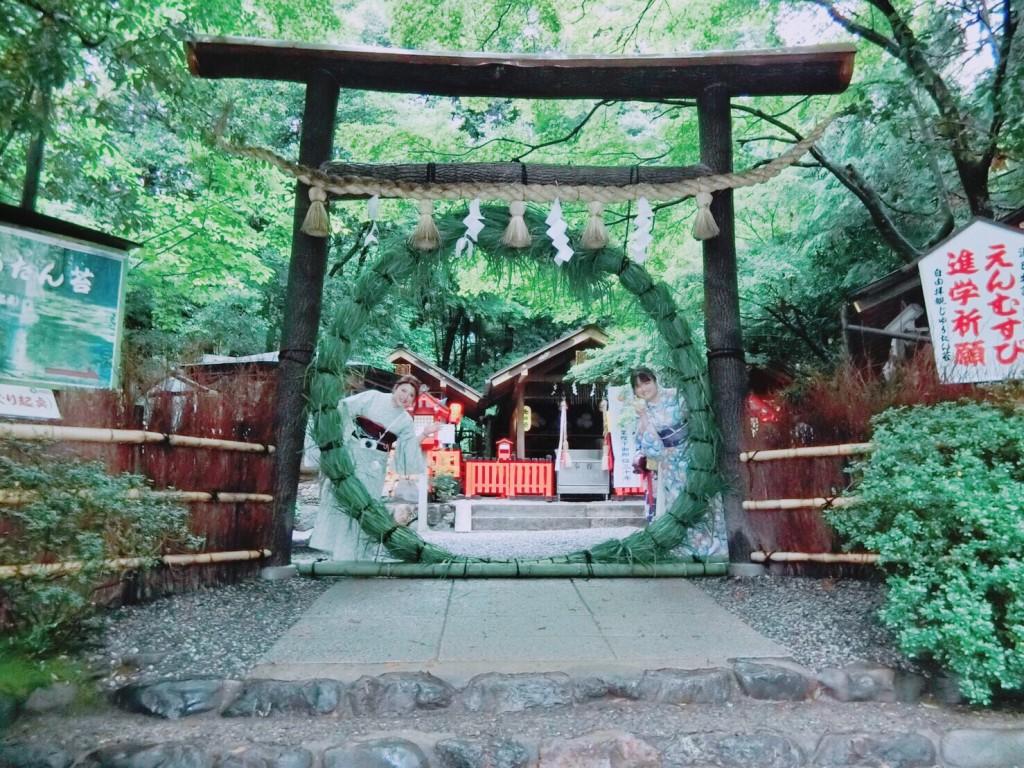 東山方面から嵐山へ(^^♪2018年6月23日5