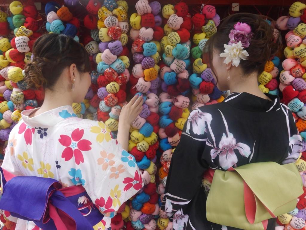 浴衣で八坂庚申堂へ(^^♪2018年7月9日1