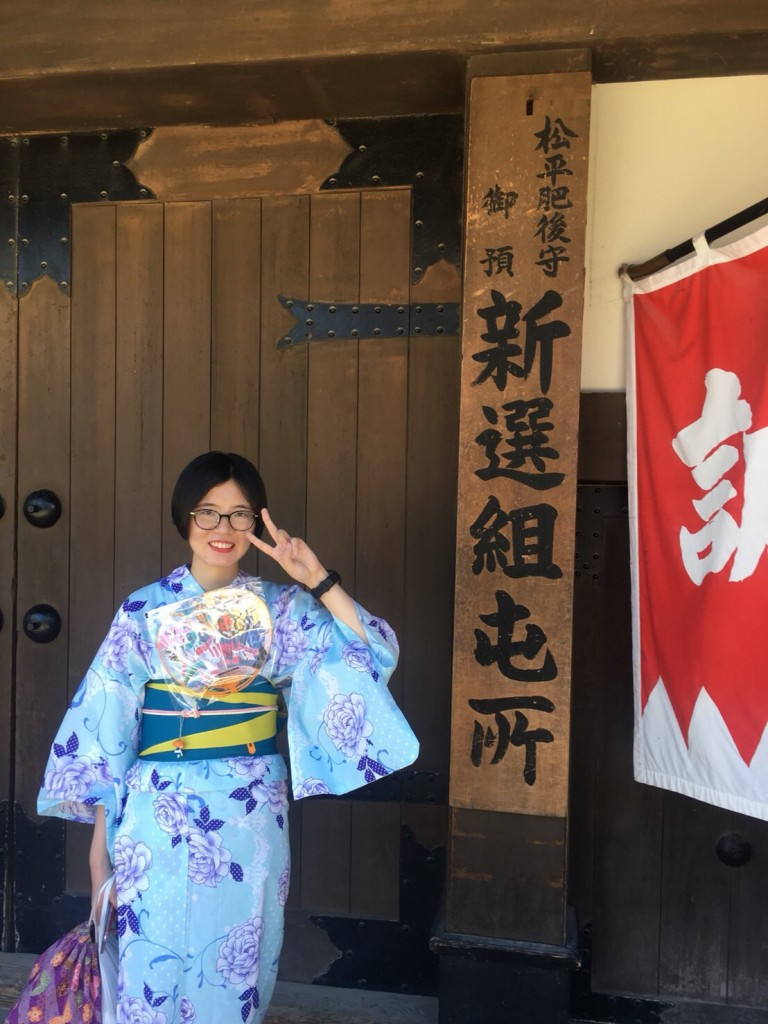 暑さに負けず、浴衣で京都観光(^^♪2018年7月22日3