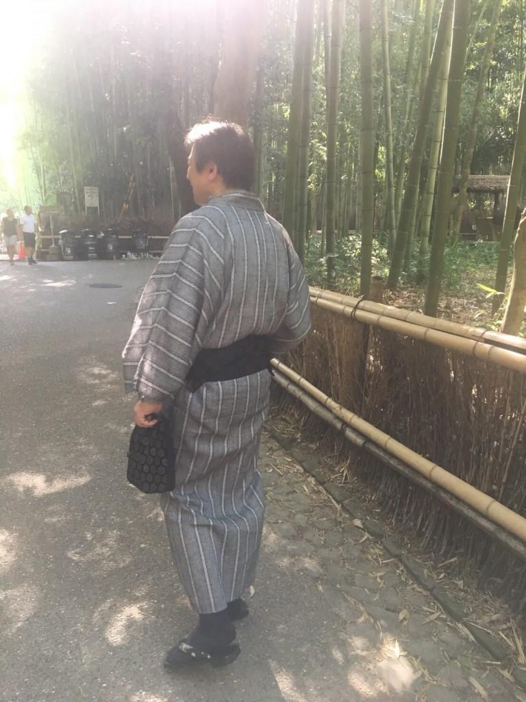 暑さに負けず、浴衣で京都観光(^^♪2018年7月22日5