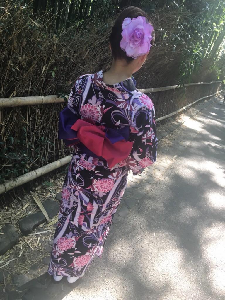 暑さに負けず、浴衣で京都観光(^^♪2018年7月22日6