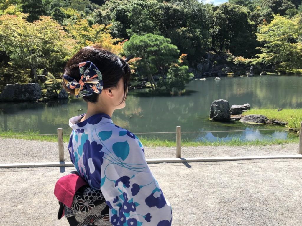 暑さに負けず、浴衣で京都観光(^^♪2018年7月22日9