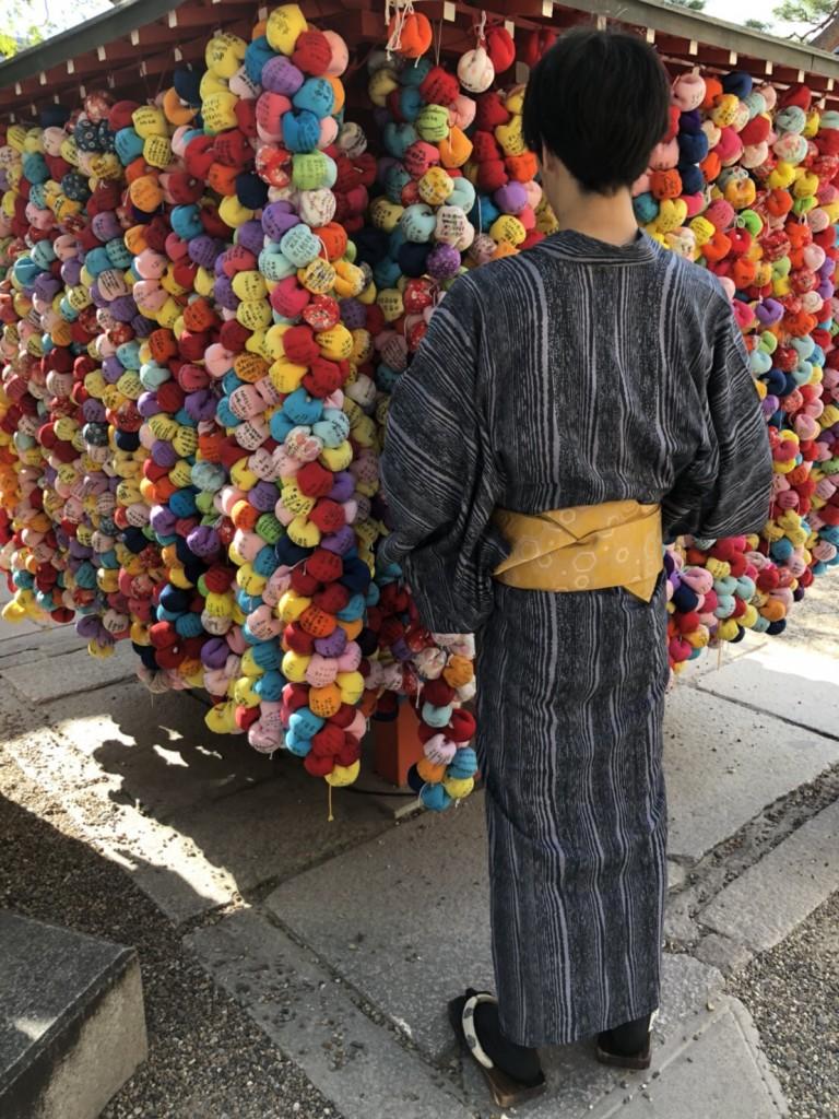 暑さに負けず、浴衣で京都観光(^^♪2018年7月22日11