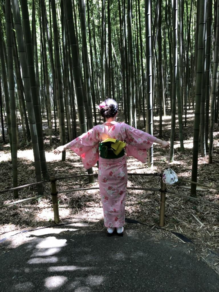 暑さに負けず、浴衣で京都観光(^^♪2018年7月22日15