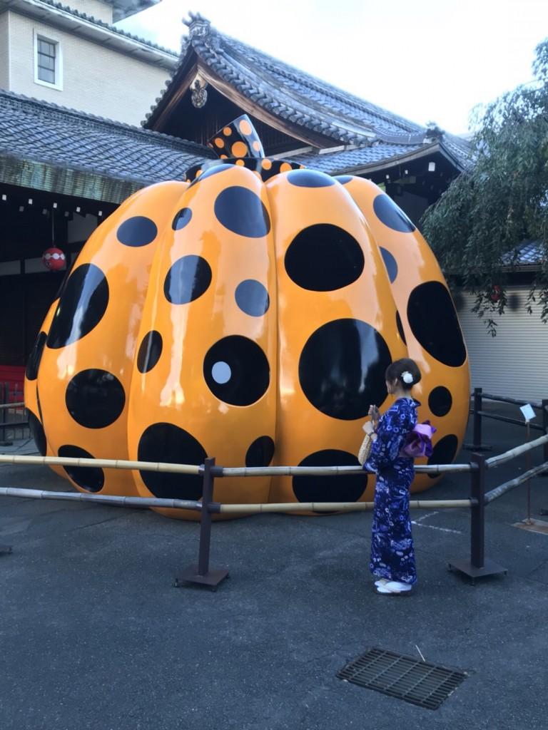 暑さに負けず、浴衣で京都観光(^^♪2018年7月22日16