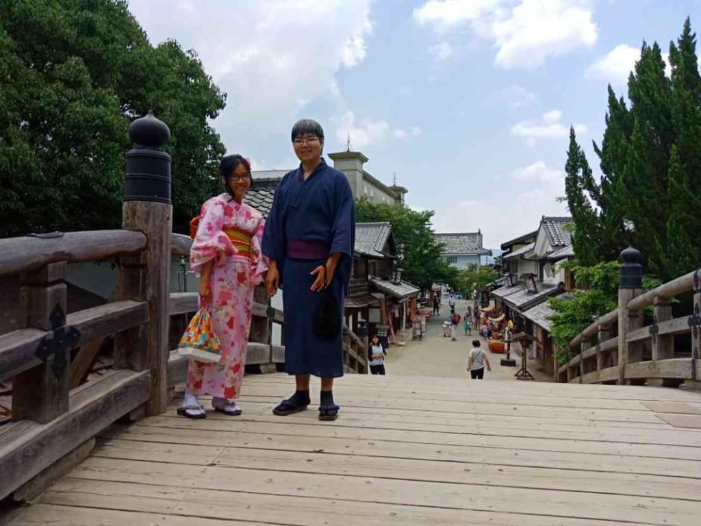 浴衣で東映太秦映画村へ(^^♪2018年7月27日2