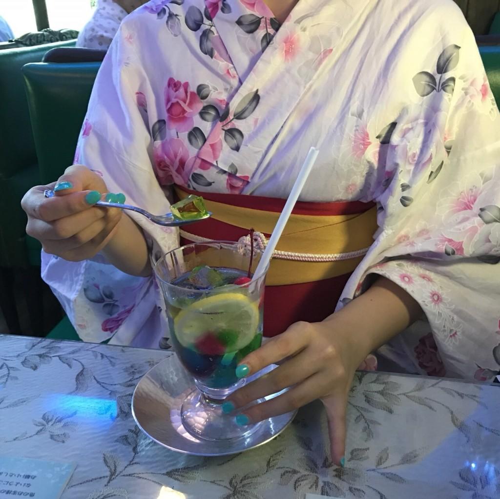 浴衣で東映太秦映画村へ(^^♪2018年7月27日4