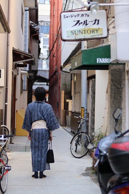 浴衣で東映太秦映画村へ(^^♪2018年7月27日5