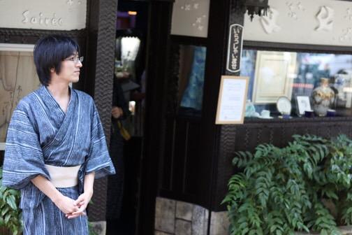 浴衣で東映太秦映画村へ(^^♪2018年7月27日6