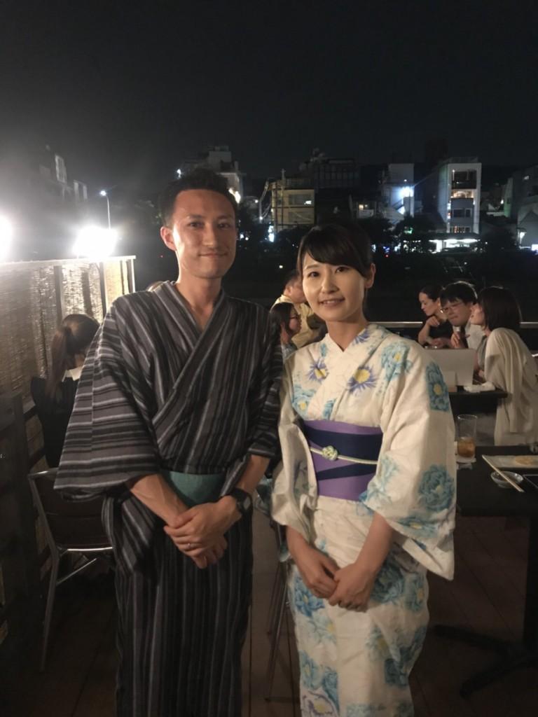 浴衣で東映太秦映画村へ(^^♪2018年7月27日8