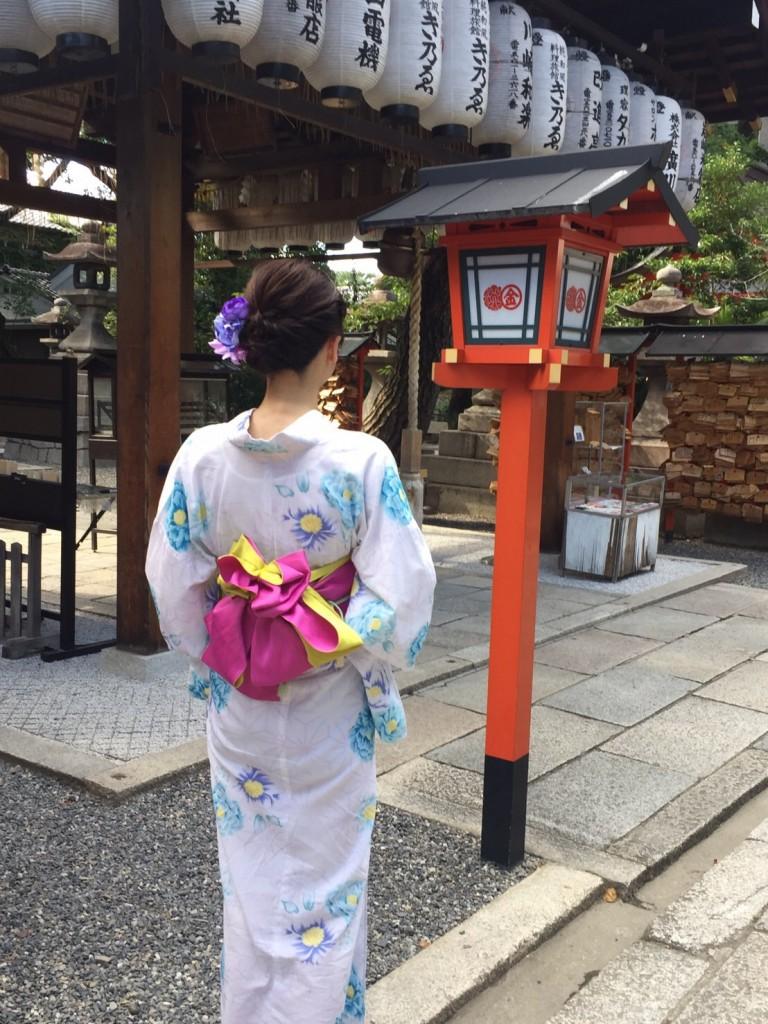 鈴虫寺から東山へ♪2018年7月31日1