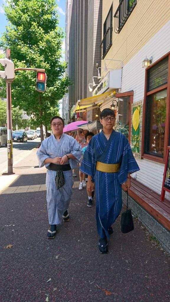 鈴虫寺から東山へ♪2018年7月31日6
