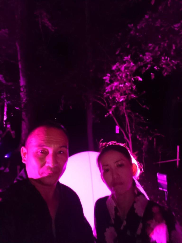 下鴨神社 糺の森の光の祭 長蛇の列2018年8月25日10
