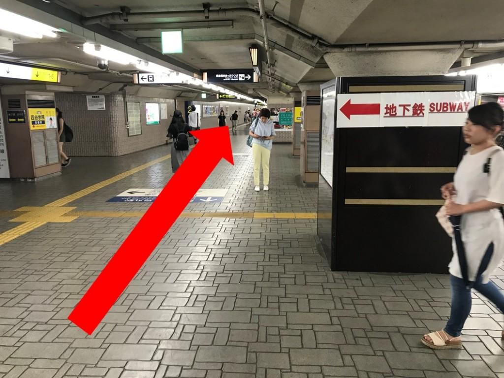 烏丸駅から(新店舗)(1)