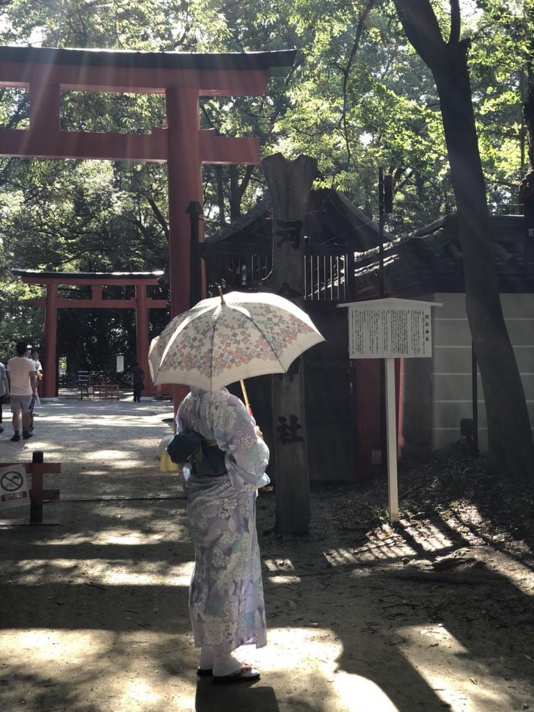 下鴨神社 糺の森の光の祭 長蛇の列2018年8月25日1