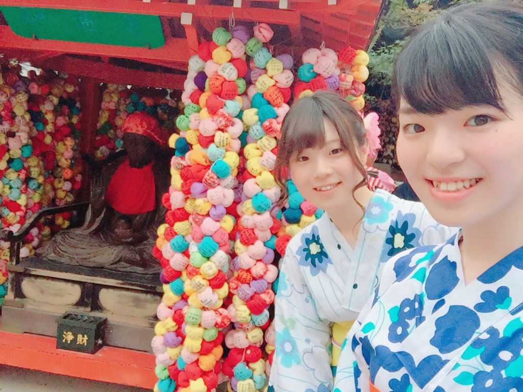 仲良し姉妹♡京都で浴衣レンタル(^^♪2018年8月6日6