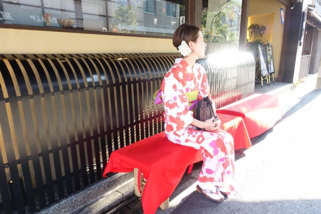 仲良し姉妹♡京都で浴衣レンタル(^^♪2018年8月6日7